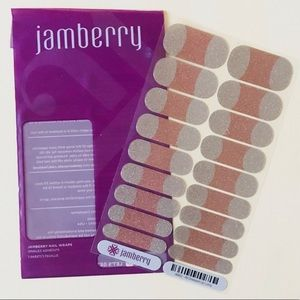 Jamberry All Dressed Up French Nail Wraps Full Sz